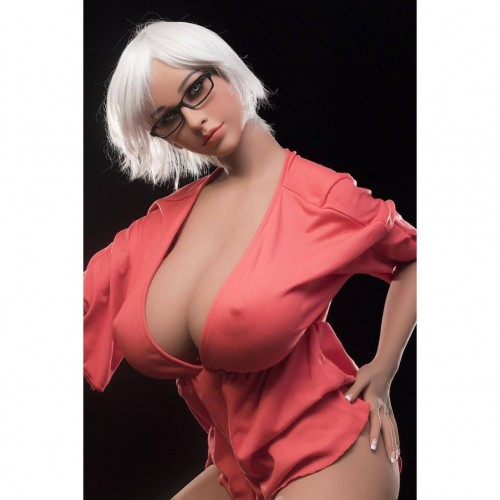 167cm 5.48ft Silicone Sex Doll With Big Boobs Big Ass Real Lifelike Love Doll with Metal Skeleton Isa