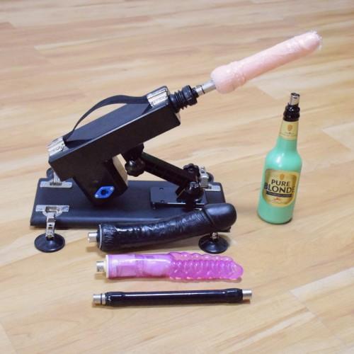 Love Sex Machine with Sex Toy Attachmens