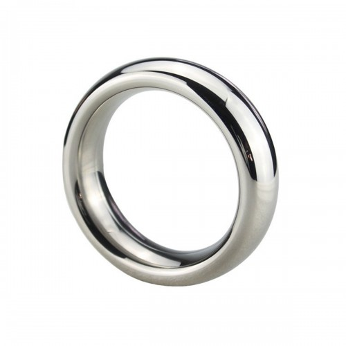 50mm Donut Metal Stainless Steel Cock Rings Male Delay Ejaculation Penis Lock
