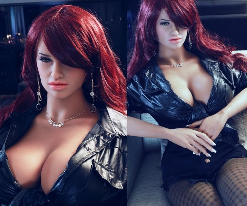 Brianna : 158cm 5.18ft sexy beauty long hair E cup silicone sex dolls