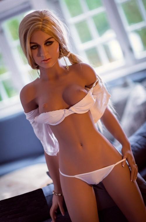 157cm 5.15ft European style small breast vagina TPE love doll