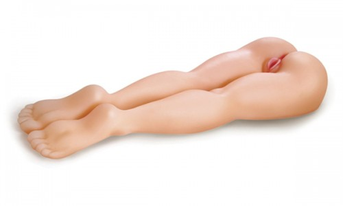 Newest Real Size Sex Doll with Artificial Vagina and Anus Masturbator, Real 113CM Pretty Leg Silicone Doll, Adult Sex Products