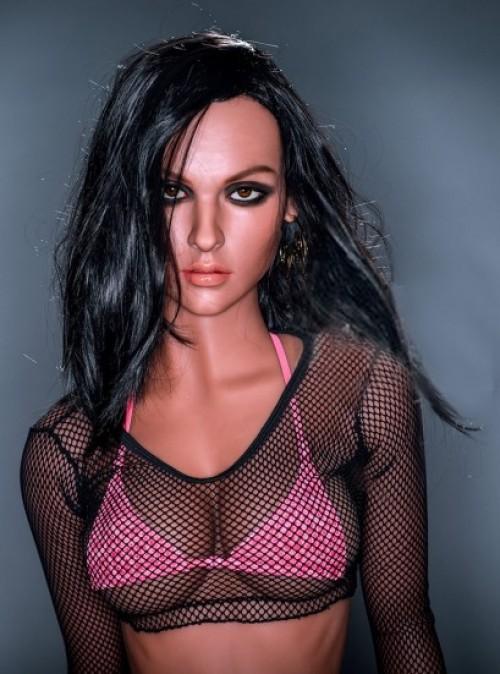166cm Kleine Breast Sex Doll Real Girl Volles Kieselgel Sexy Doll