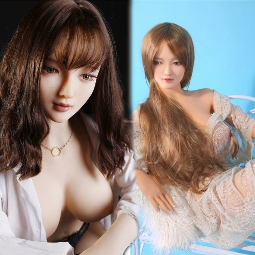 135cm 4.5ft Silicone Sex Doll With 3 Real Vagina Pussy Blow Up Life Size Silicone Love Doll Belinda