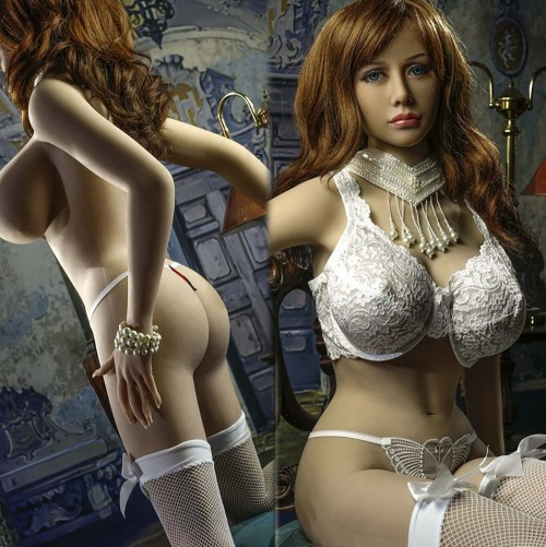 165cm 5.41ft Lifelike Silicone Sex Doll  Realistic Love Dolls Metal Skeleton With 3 Holes Mouth Vagina Anal